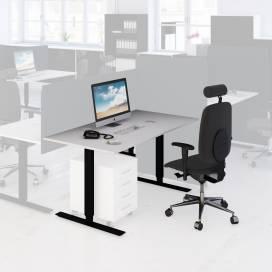 Arbetsplats Bord + Stol mörk