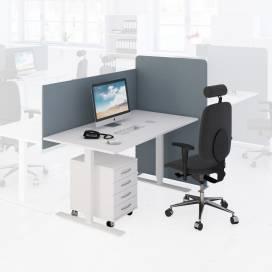 Arbetsplats Bord + Stol + Bordsskärm + Golvskärm + Hurts Ljus