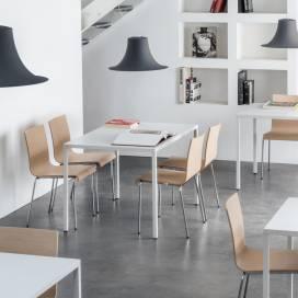 Restaurangmöbler 4 pers Fabbrico TFA + KuadraXL 2413