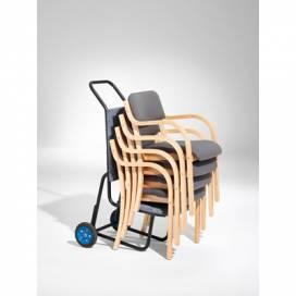 Stolskärra till stapelbara stolar