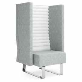 Block Soffa 1-sits med hög rygg