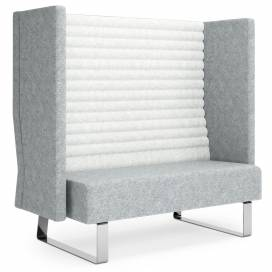 Block Soffa 2-sits med hög rygg