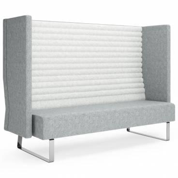 Block Soffa 3-sits med hög rygg