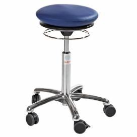 Pilatesstol Air Seat, blå konstläder