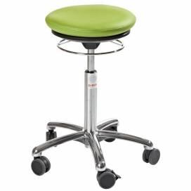 Pilatesstol Air Seat, grön konstläder