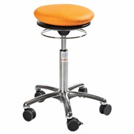 Pilatesstol Air Seat, orange konstläder