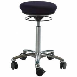 Pilatesstol Air Seat, mörkblå tyg