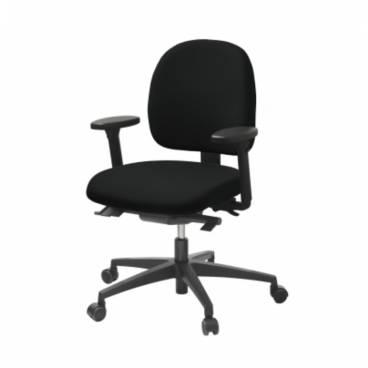 LD 6320, kontorsstol med låg rygg
