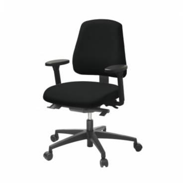 LD 6330, kontorsstol med medelhög rygg