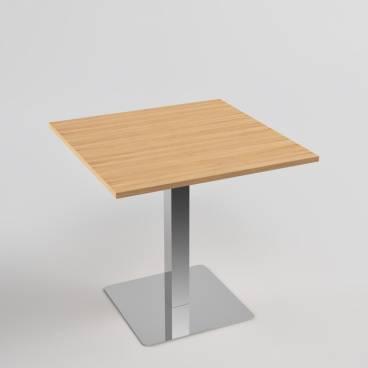 Cafébord 80x80 - ek