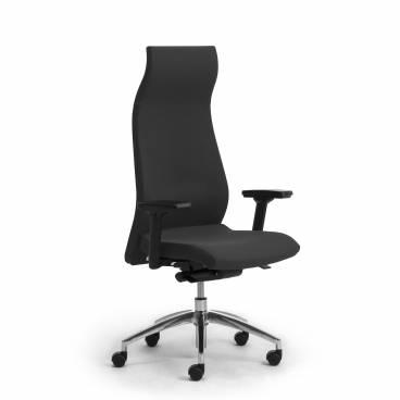 Energy ergonomisk kontorsstol med högt ryggstöd