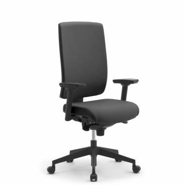 Wiki ergonomisk kontrosstol med hög rygg och nackstöd