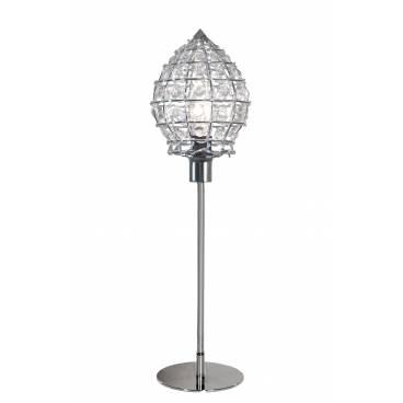 Globen Bordslampa MONA PINNEkrom/klar