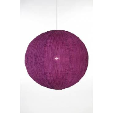 Globen Taklampa MOON lila bomull
