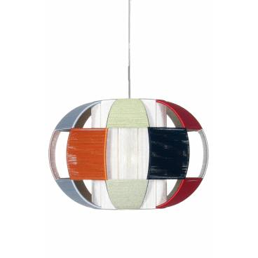 Globen Taklampa LINDA flerfärg XL
