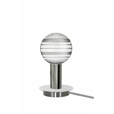 Globen Bordslampa TORCH rör krom