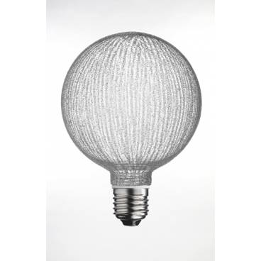 Glödlampa Halogen Komp. Glob E27 18W Rugglig
