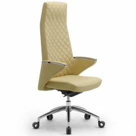 Zeus, elegant kontorsstol med högt ryggstöd