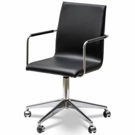 Bizz Karmstol med låg rygg och hjul