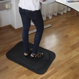Yoga Fashion Arbetsplatsmatta 58x83 cm Svart