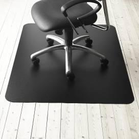 Golvskydd Standard 120x150 cm utan pigg, svart