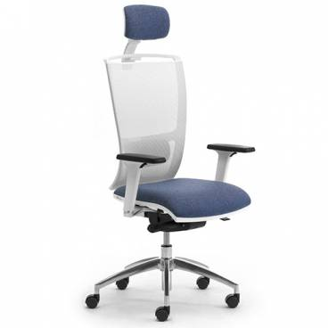 Cometa-W ergonomisk kontorsstol med hög rygg & nackstöd
