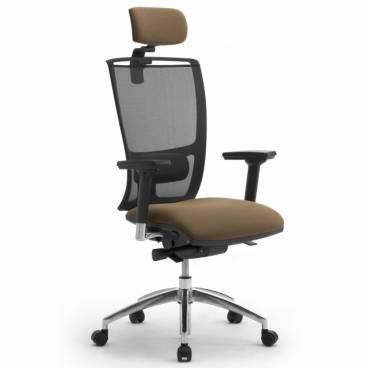 Cometa ergonomisk kontorsstol med hög rygg & nackstöd