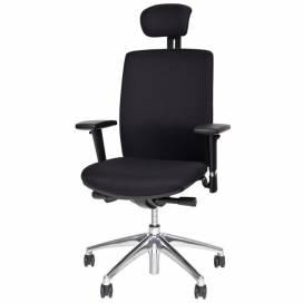 Synch, ergonomisk kontorsstol - svart