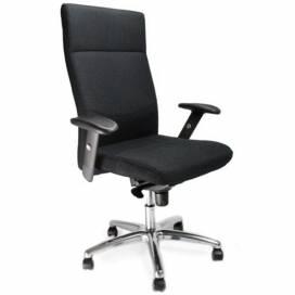Charlotte komfortstol med hög rygg - Svart