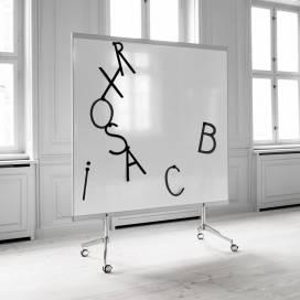 Dubbelsidig Mobil Whiteboard M3