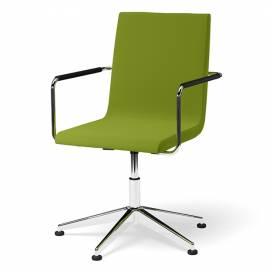 Bizz Karmstol med låg rygg och glidfötter