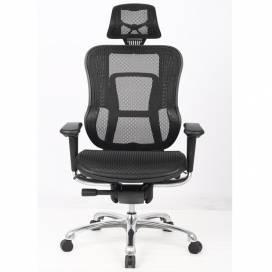 Detroit, multifunktionell ergonomisk stol - Svart