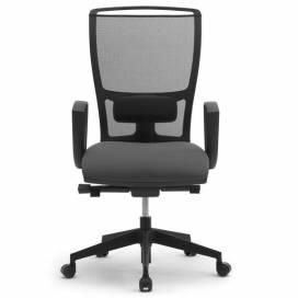 Cometa, ergonomisk kontorsstol med hög nätrygg