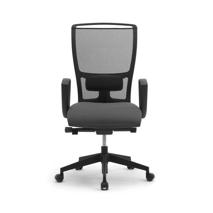 Ergonomisk kontorsstol utan rygg