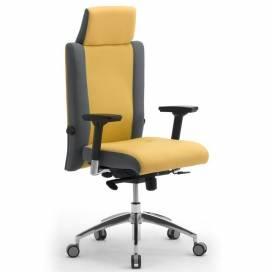 Non Stop, 24h ergonomisk kontorsstol med högt ryggstöd