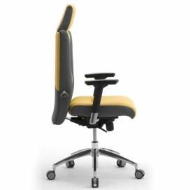 Non Stop 24H ergonomisk kontorsstol med högt ryggstöd