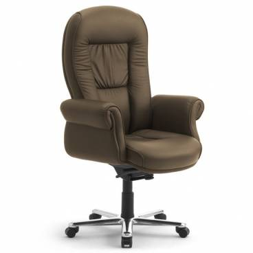Doge Lux Italian Leather Executive Office Chair