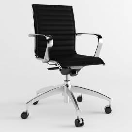 Origami IN kontorsstol med medelhög rygg