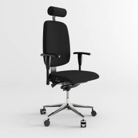 Relax kontorsstol - Svart