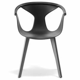 Pedrali Fox Stol 3725, svart/svart