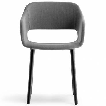 Pedrali Babila Stol 2756, grå/svart