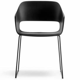 Pedrali Babila Stol 2745, svart/svart