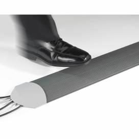 Mjuk Golvlist, 150 mm bred 3,0 m lång, Grå