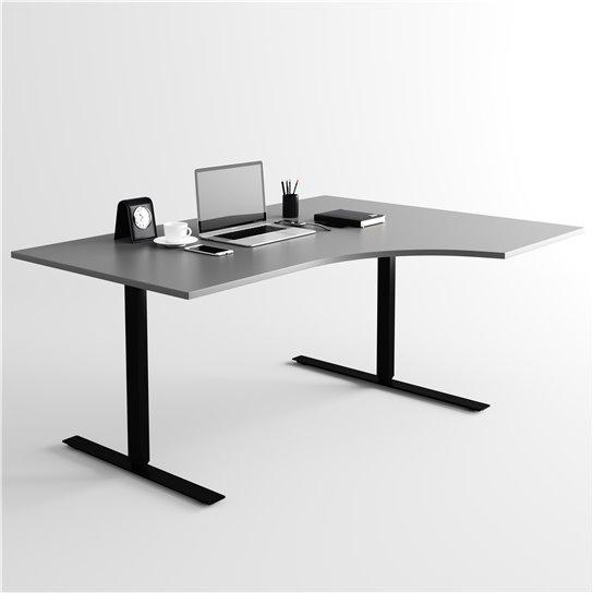 Höj & sänkbart skrivbord Lägst pris här Elite Kontorsmöbler