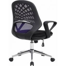 Phoenix kontorsstol med nätrygg - Blå