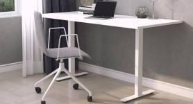 Skrivbord med t-stativ
